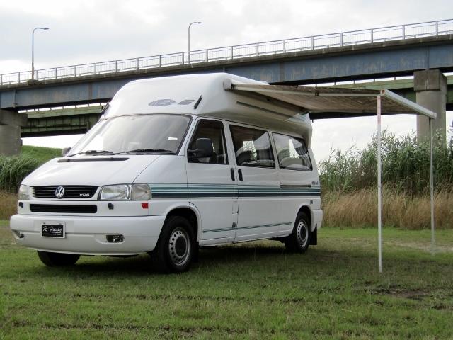 「即決!VW T4 ユーロバン VR6 キャンピングカー 6人乗り 2段ベッド FFヒーター リアクーラー バックカメラ 他」の画像3