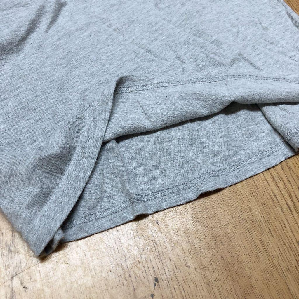 【puma】プーマ / メンズ USサイズ XL グレー 半袖Tシャツ プリント トップス シンプル カジュアル スポーツウエア USA古着_画像8
