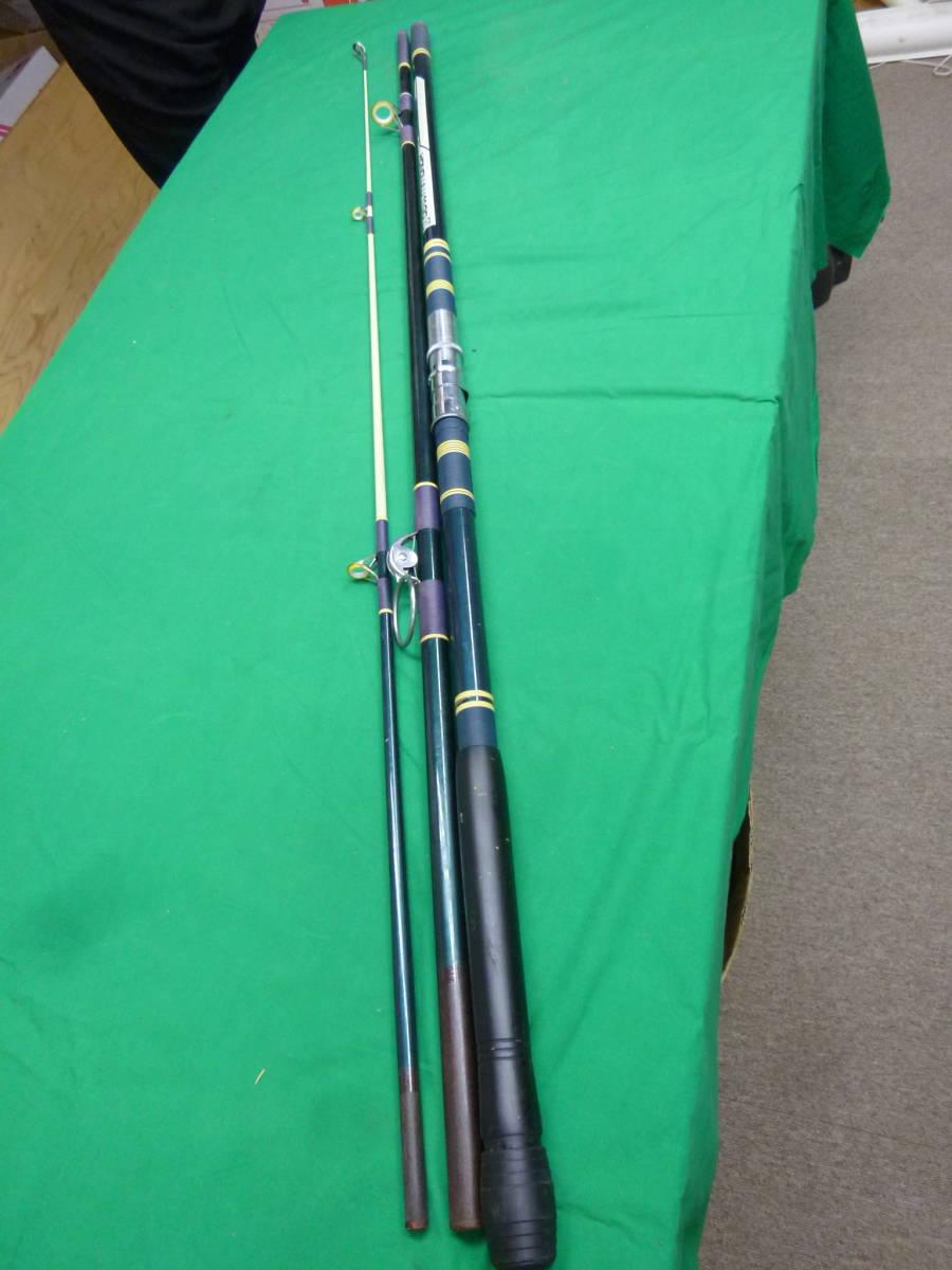 「3885 オリンピック釣具 投げ釣り竿 ホノルル11GO (竹竿)」の画像