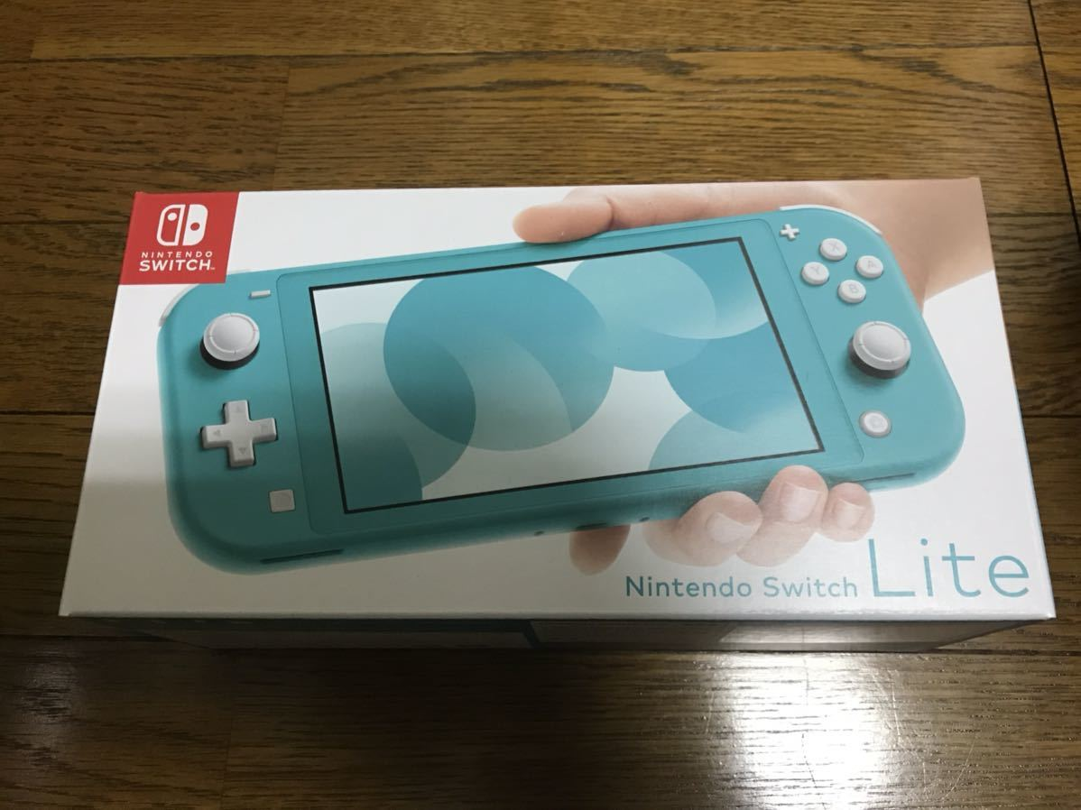 Nintendo Switch Lite ニンテンドースイッチライト本体 ターコイズブルー 未使用品