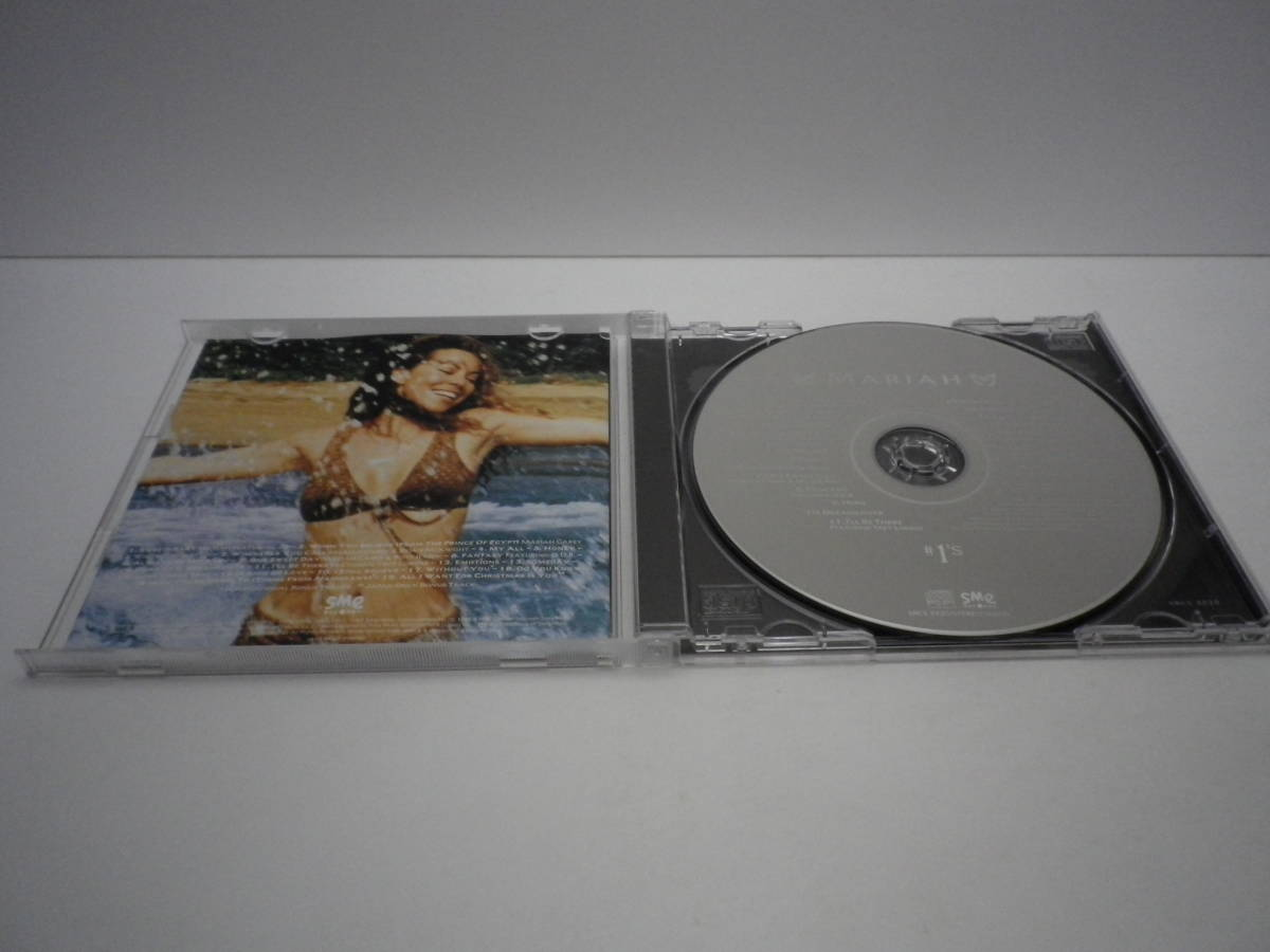 「#1's/Mariah Carey~マライア・キャリー『ザ・ワンズ』The Ones」CD Sony Music 1998【送料無料】「熊五郎のお店」00600180
