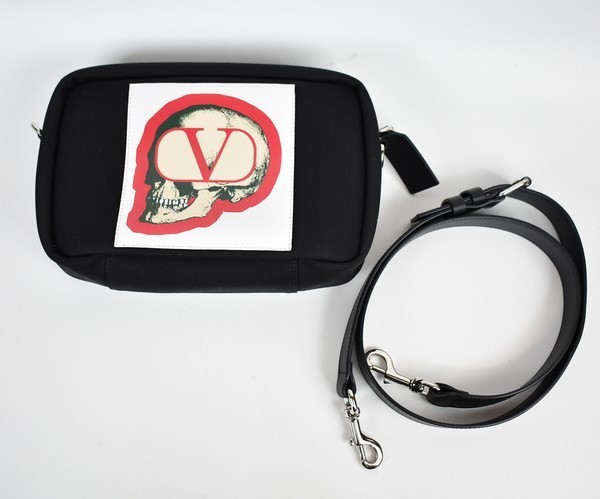 VALENTINO GARAVANI×UNDERCOVER/ヴァレンティノガラヴァーニ×アンダーカバー 19AW GOスカルクロスボディバッグ バッグ 20n06_画像1