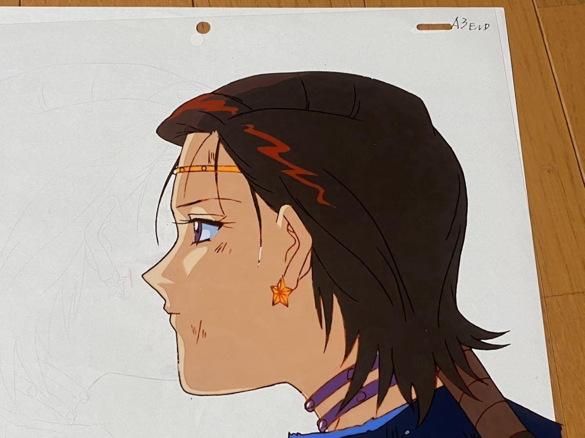 当時物 美少女戦士セーラームーン 大気光 セル画 動画 修正 設定 直筆原画_画像3