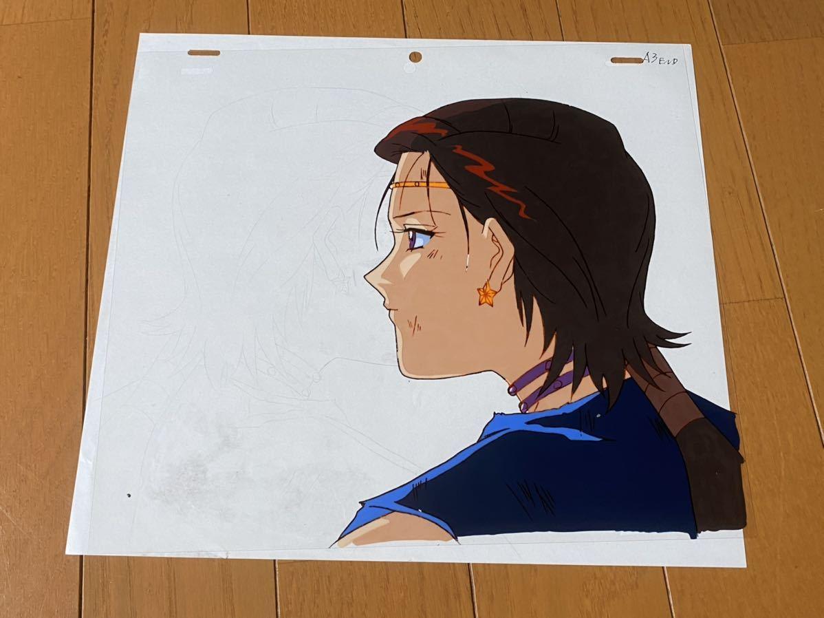 当時物 美少女戦士セーラームーン 大気光 セル画 動画 修正 設定 直筆原画_画像1