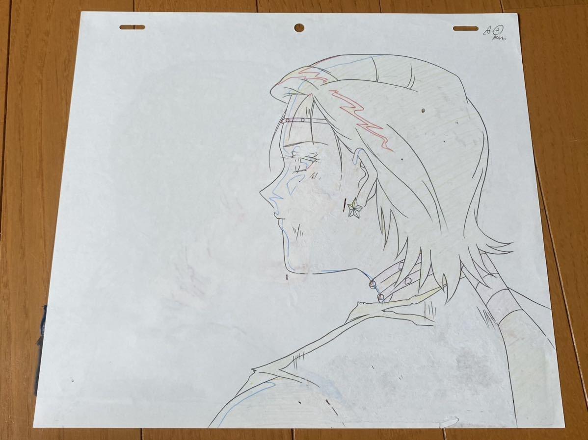 当時物 美少女戦士セーラームーン 大気光 セル画 動画 修正 設定 直筆原画_画像2