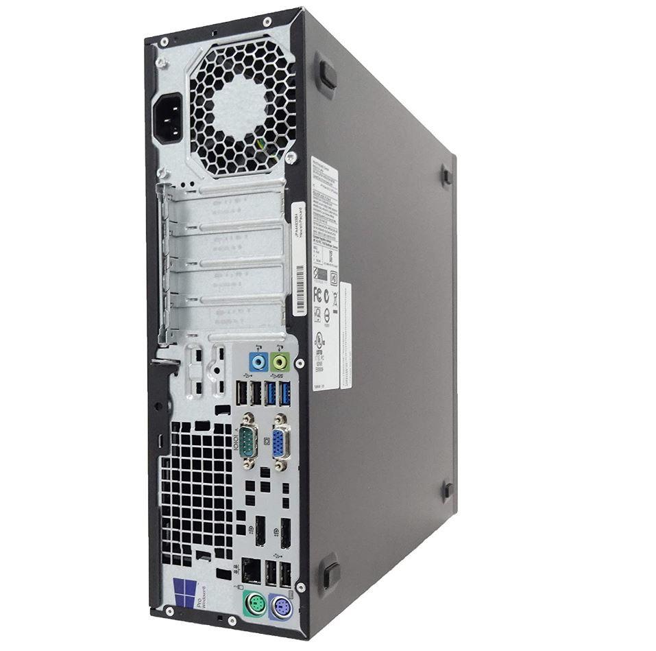 ■驚速 究極PC HP i7-4790 4.0G x8/メモリ32GB■新SSD:960GB+大容量HDD:4TB Win10 Pro Office2019/USB3.0/追加 無線■ProDesk 600 SFF G1-6_画像2