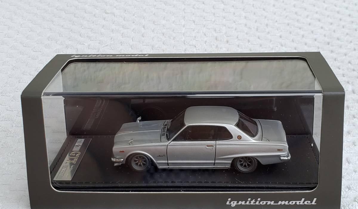 送料無 IG 1/43 ignition model 希少 ニッサン KGC10 スカイライン ハコスカ 2000 GT-X ワタナベ 0376 イグニッションモデル 日産 ミニカー_RS ワタナベホイールになります。