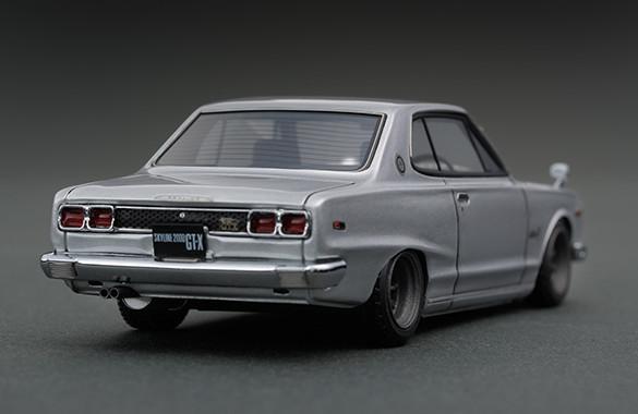 送料無 IG 1/43 ignition model 希少 ニッサン KGC10 スカイライン ハコスカ 2000 GT-X ワタナベ 0376 イグニッションモデル 日産 ミニカー_イメージ画像になります。