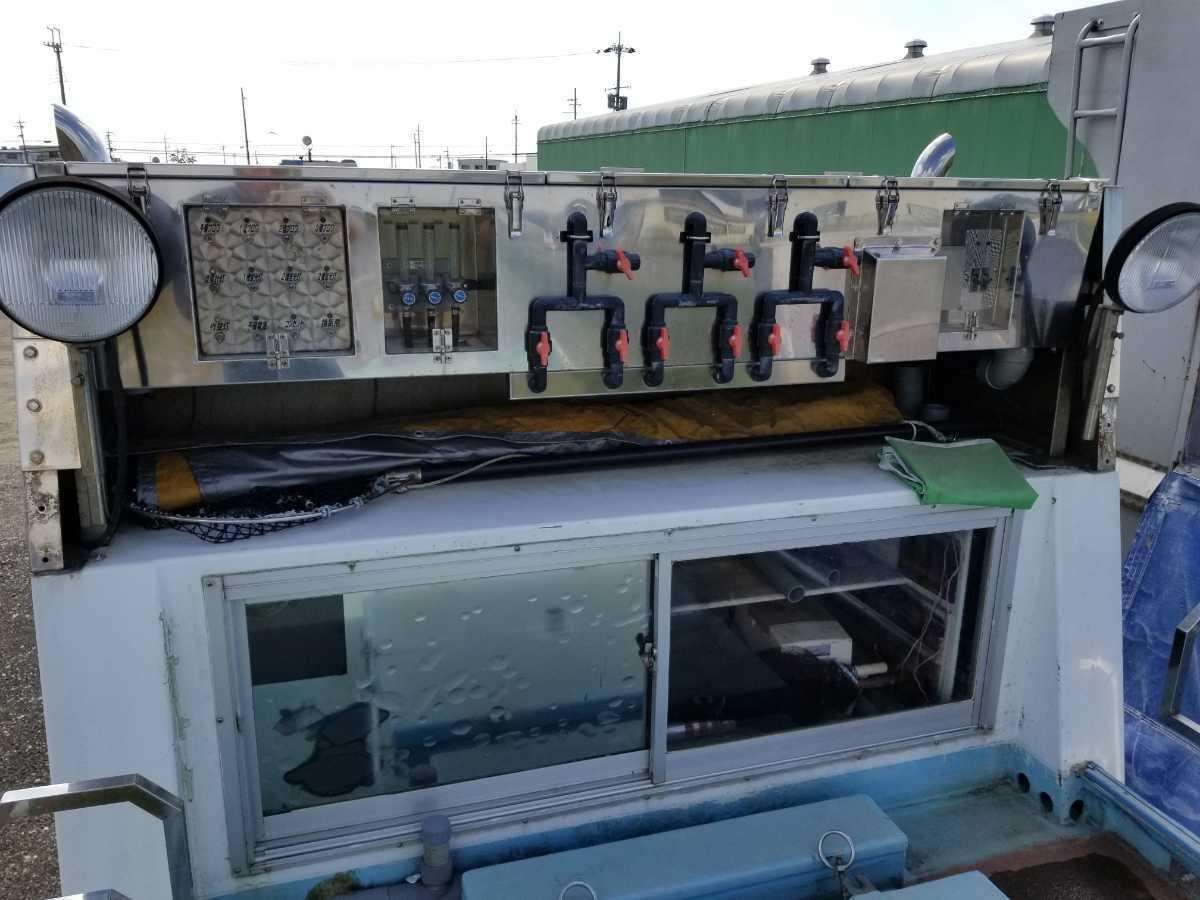 「いすゞフォワード 活魚運搬車」の画像2