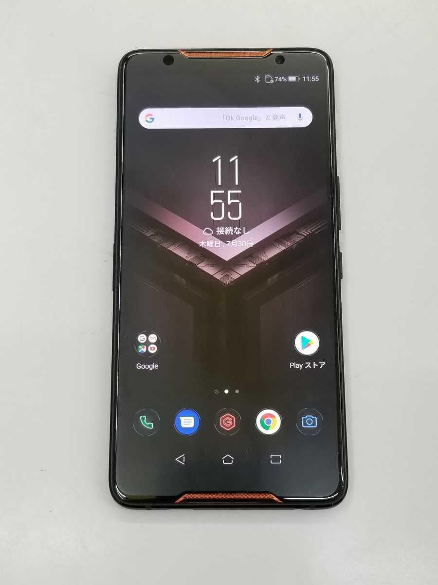 ■中古 ROG Phone ZS600KL BK512S8 Z01QD バッテリー:良好_画像2