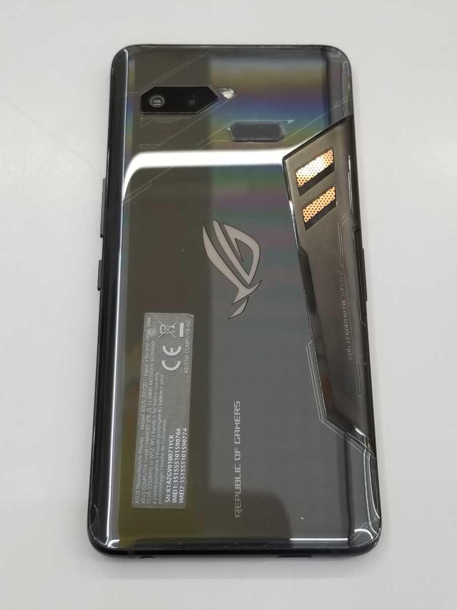 ■中古 ROG Phone ZS600KL BK512S8 Z01QD バッテリー:良好_画像3