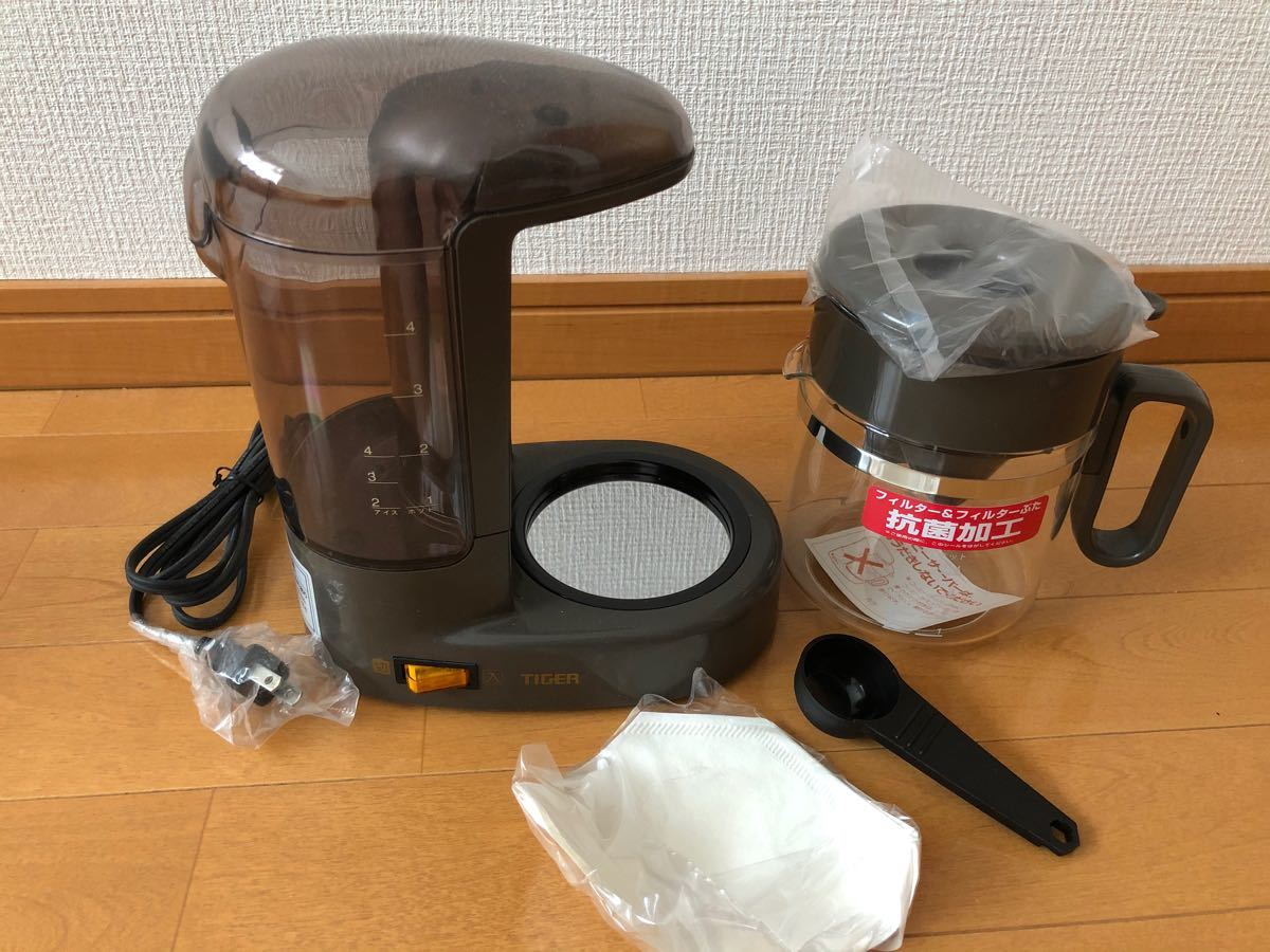 コーヒーメーカー TIGER 新品未使用 お値下げしました。