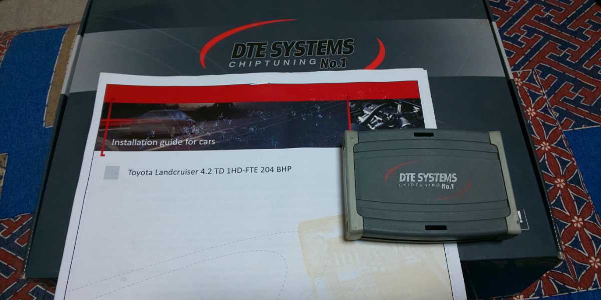 ランクル100 ディーゼル 1HD-FTE用 DTE サブコン 馬力 トルク 大幅アップ 燃調