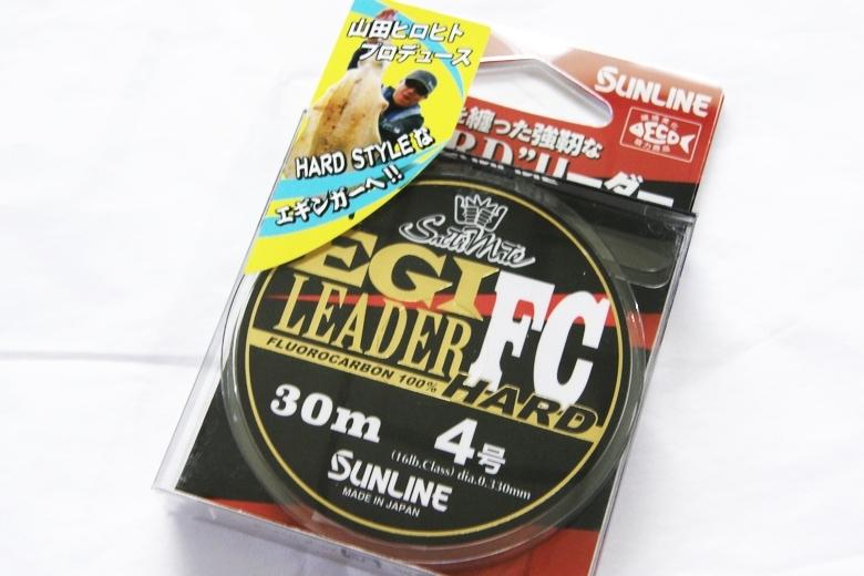 SUNLINE (サンライン) ソルティメイト エギリーダー FC HARD 30m #4号 [JAN#534463] 定価OPEN_画像1