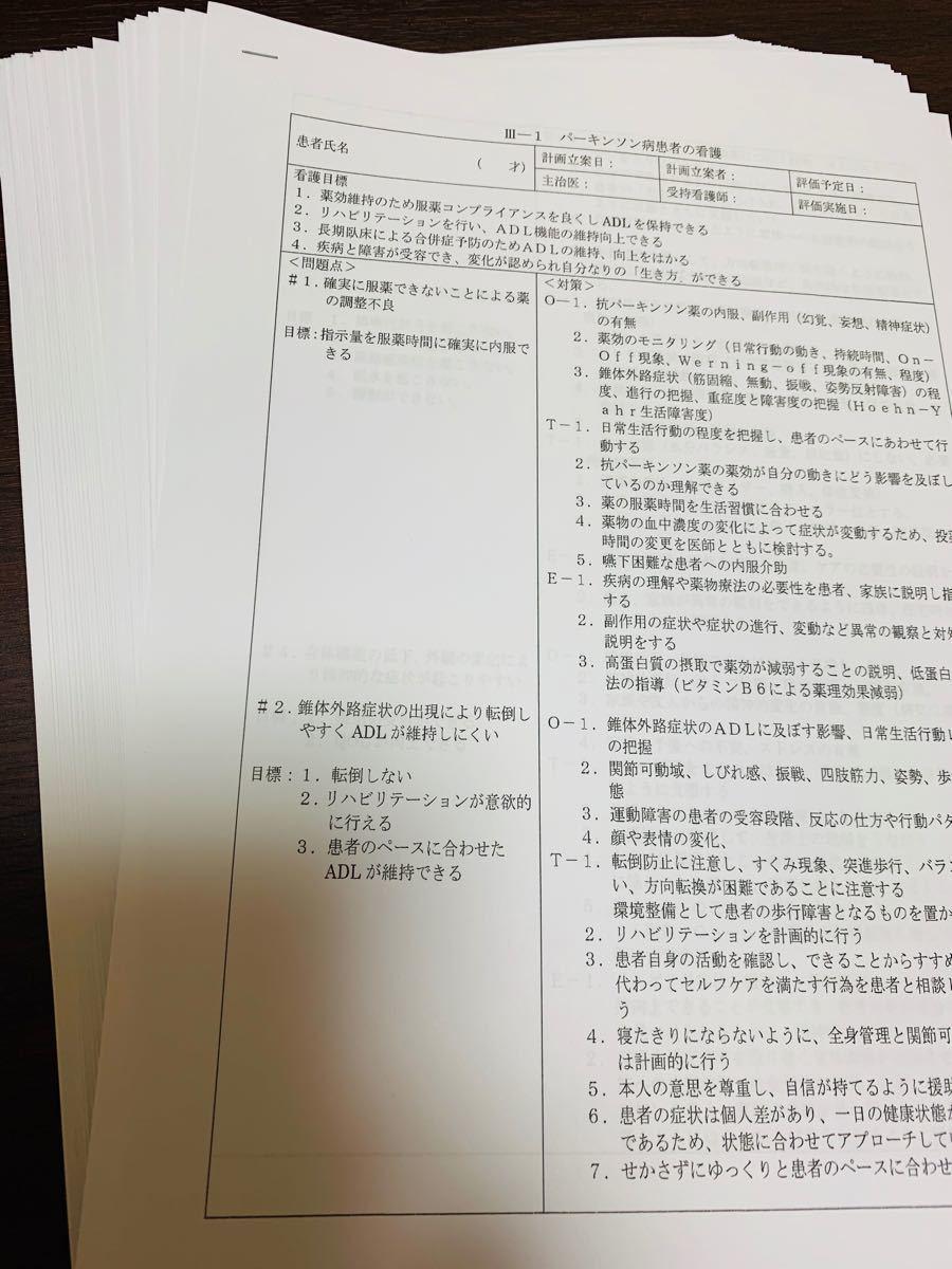 看護 付箋 ノート ★ 検査値 まとめ ★ 看護計画 セット (^^)