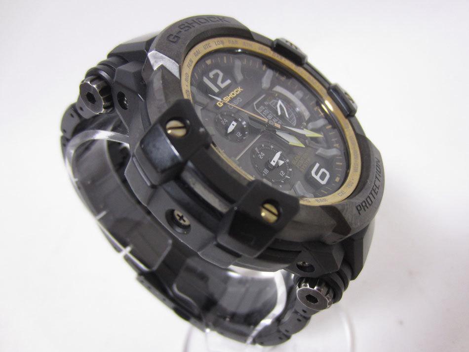 送料無料 CASIO カシオ G-SHOCK Gショック 腕時計 マスターオブG グラビティマスター GPSハイブリッド 電波 ゴールド GPW-1000FC-1A9JF_画像3
