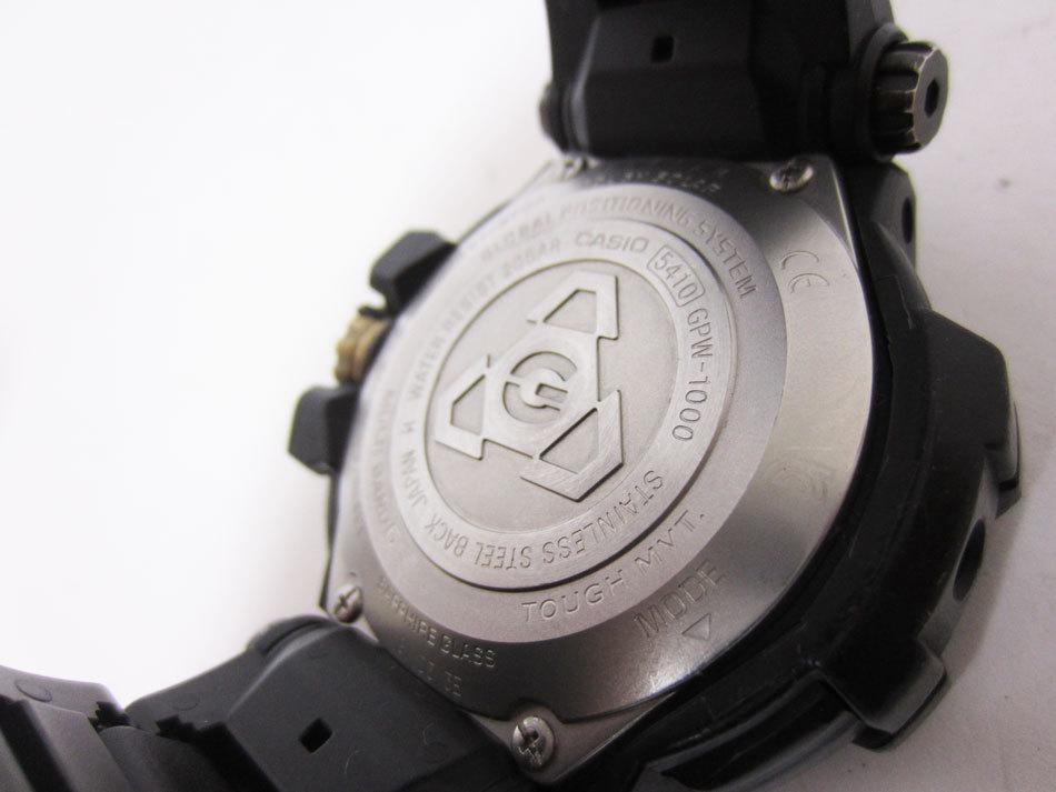 送料無料 CASIO カシオ G-SHOCK Gショック 腕時計 マスターオブG グラビティマスター GPSハイブリッド 電波 ゴールド GPW-1000FC-1A9JF_画像8