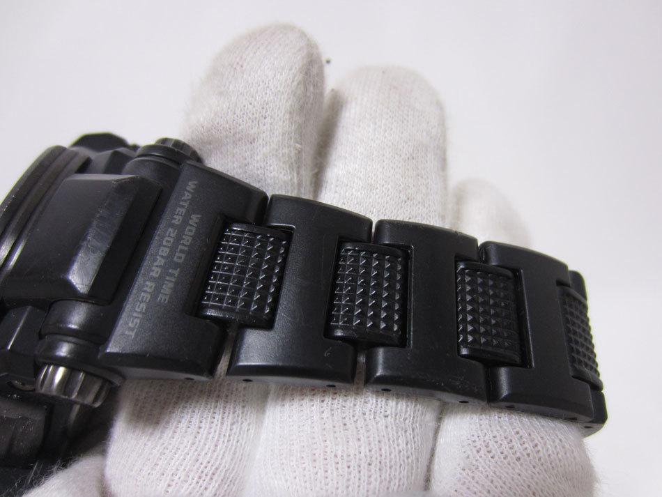 送料無料 CASIO カシオ G-SHOCK Gショック 腕時計 マスターオブG グラビティマスター GPSハイブリッド 電波 ゴールド GPW-1000FC-1A9JF_画像10