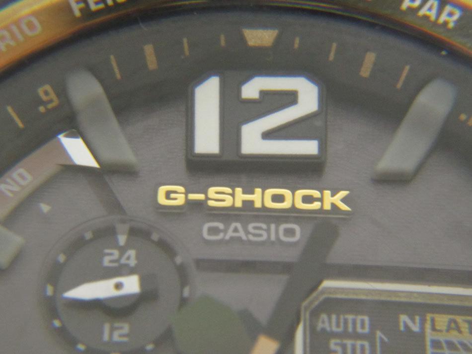 送料無料 CASIO カシオ G-SHOCK Gショック 腕時計 マスターオブG グラビティマスター GPSハイブリッド 電波 ゴールド GPW-1000FC-1A9JF_画像5
