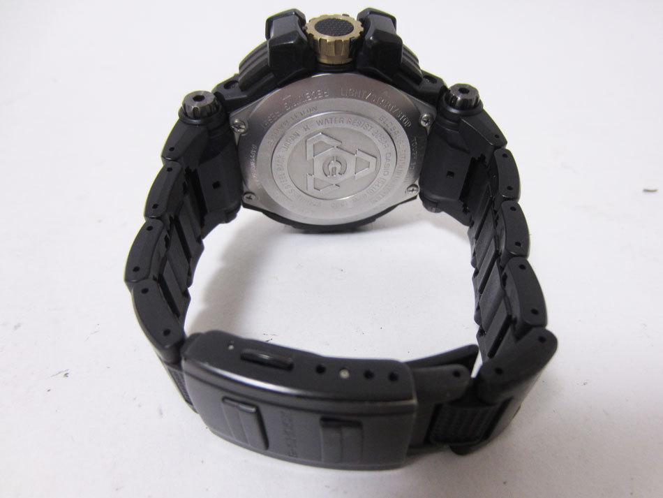 送料無料 CASIO カシオ G-SHOCK Gショック 腕時計 マスターオブG グラビティマスター GPSハイブリッド 電波 ゴールド GPW-1000FC-1A9JF_画像7