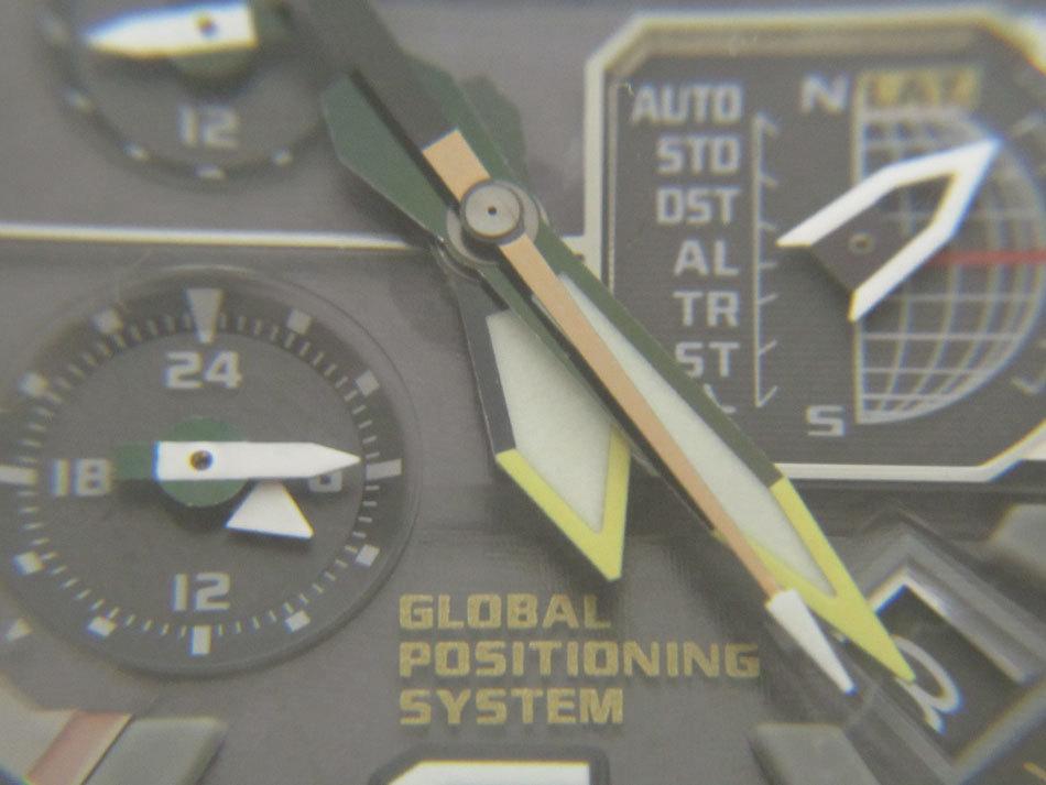 送料無料 CASIO カシオ G-SHOCK Gショック 腕時計 マスターオブG グラビティマスター GPSハイブリッド 電波 ゴールド GPW-1000FC-1A9JF_画像4