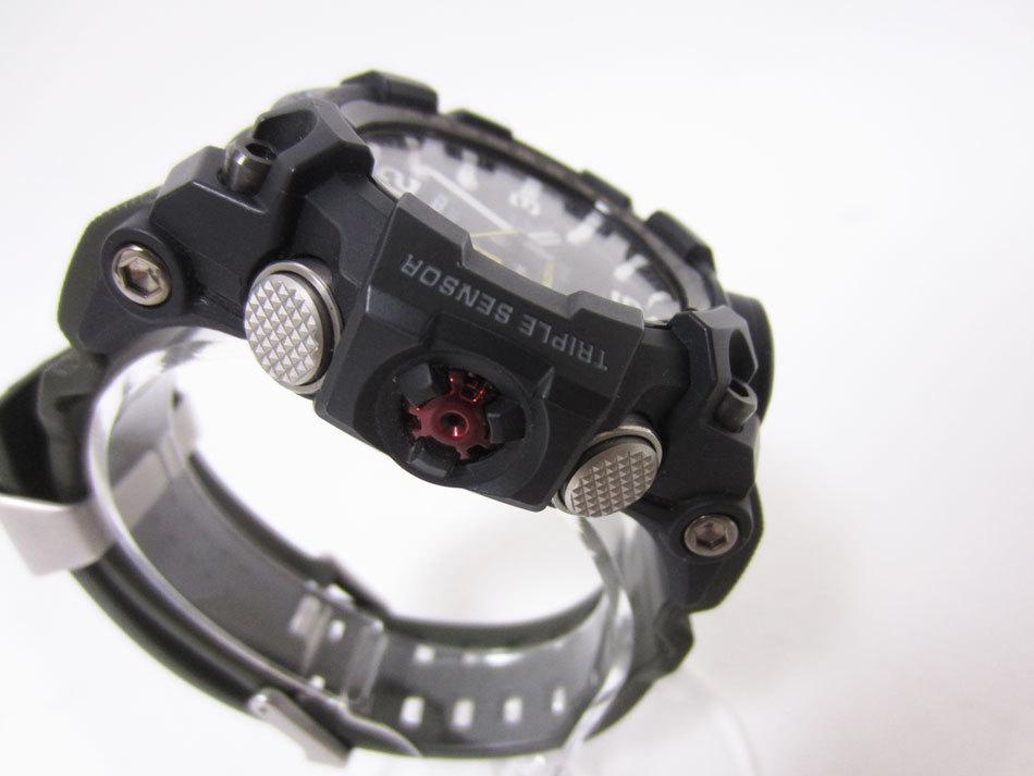 美品 送料無料 CASIO カシオ MUDMASTER マッドマスター タフソーラー 電波 腕時計 メンズウォッチ GWG-1000-1A3JF_画像3