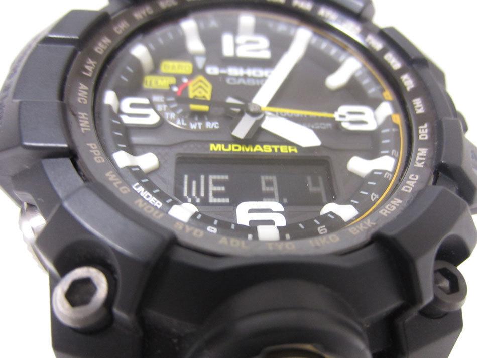 美品 送料無料 CASIO カシオ MUDMASTER マッドマスター タフソーラー 電波 腕時計 メンズウォッチ GWG-1000-1A3JF_画像4