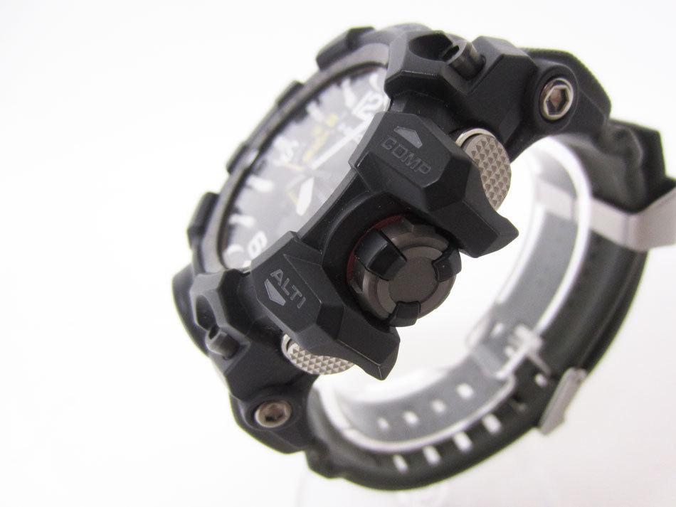美品 送料無料 CASIO カシオ MUDMASTER マッドマスター タフソーラー 電波 腕時計 メンズウォッチ GWG-1000-1A3JF_画像2