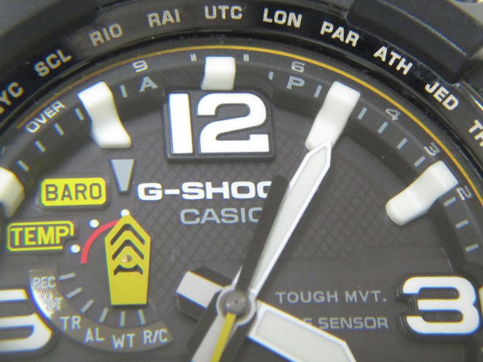 美品 送料無料 CASIO カシオ MUDMASTER マッドマスター タフソーラー 電波 腕時計 メンズウォッチ GWG-1000-1A3JF_画像5