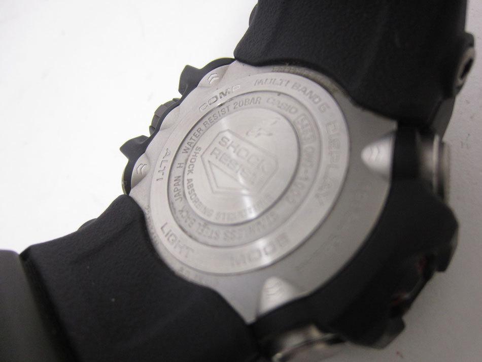 美品 送料無料 CASIO カシオ MUDMASTER マッドマスター タフソーラー 電波 腕時計 メンズウォッチ GWG-1000-1A3JF_画像8