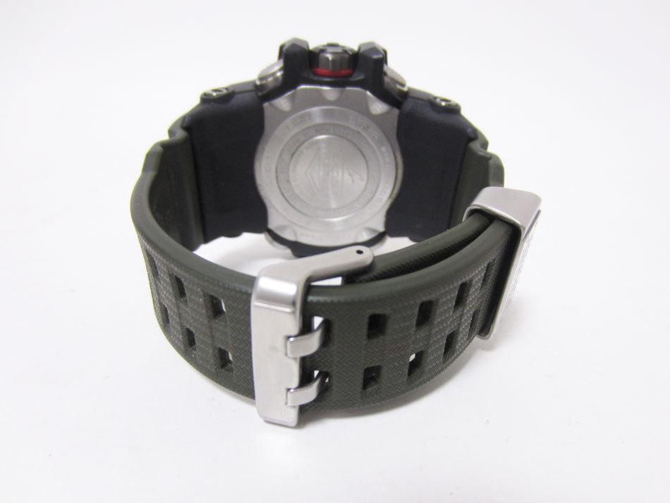 美品 送料無料 CASIO カシオ MUDMASTER マッドマスター タフソーラー 電波 腕時計 メンズウォッチ GWG-1000-1A3JF_画像7