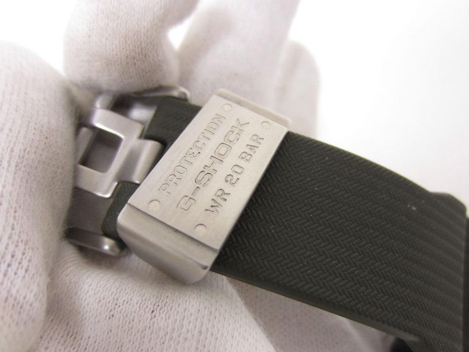 美品 送料無料 CASIO カシオ MUDMASTER マッドマスター タフソーラー 電波 腕時計 メンズウォッチ GWG-1000-1A3JF_画像10