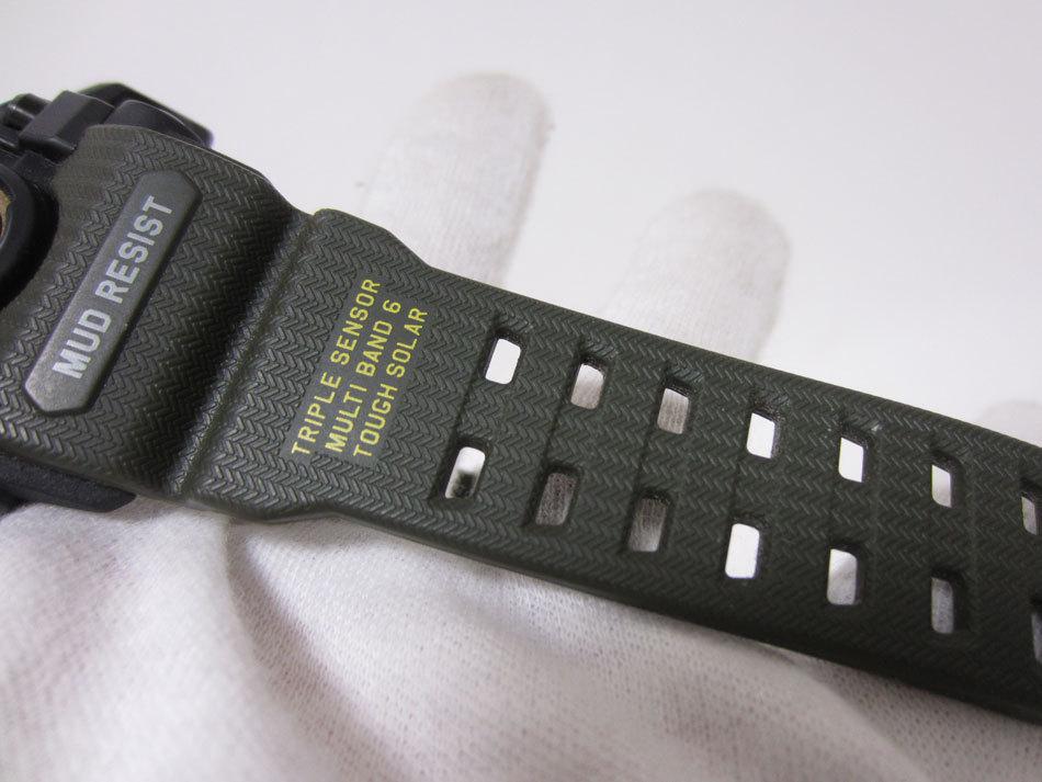 美品 送料無料 CASIO カシオ MUDMASTER マッドマスター タフソーラー 電波 腕時計 メンズウォッチ GWG-1000-1A3JF_画像9
