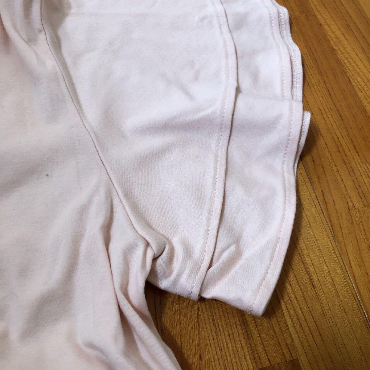 フリル Tシャツ ピンク 半袖Tシャツ