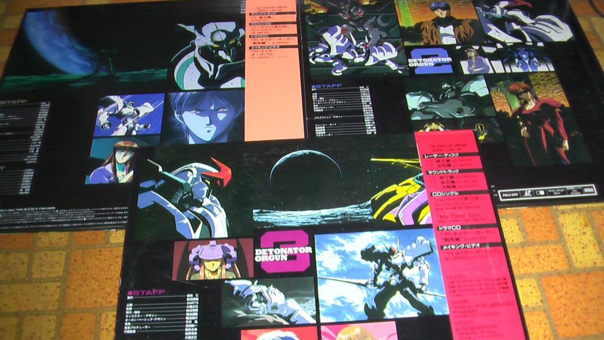 OVA デトネイター・オーガン(全3巻セット)_画像2