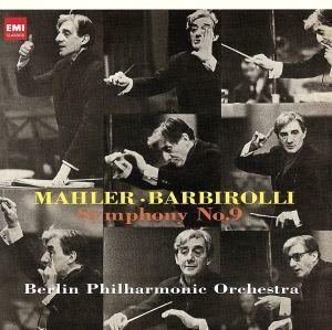 マーラー:交響曲第9番(Hybrid SACD)/ジョン・バルビローリ(cond),ベルリン・フィルハーモニー管弦楽団_画像1