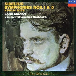 シベリウス:交響曲第1番・第5番/ロリン・マゼール(指揮),ウィーン・フィルハーモニー管弦楽団(po.)_画像1