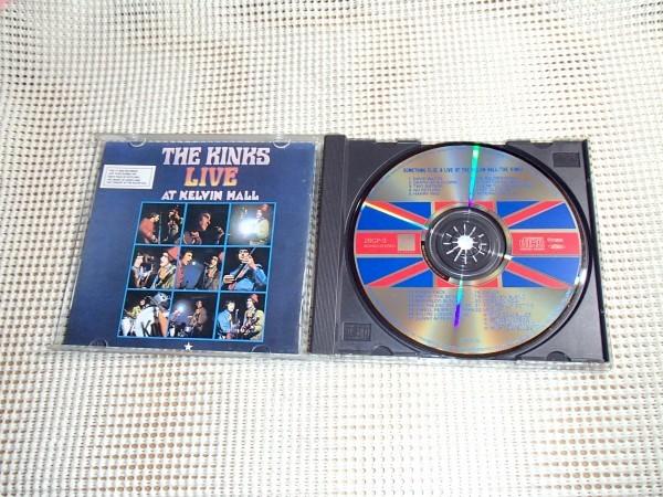 初期廃盤 2in1 The Kinks キンクス Something Else + Live At The Kelvin Hall / Nicky Hopkins 参加 Dave Davies Ray Davies 在籍 28CP-3