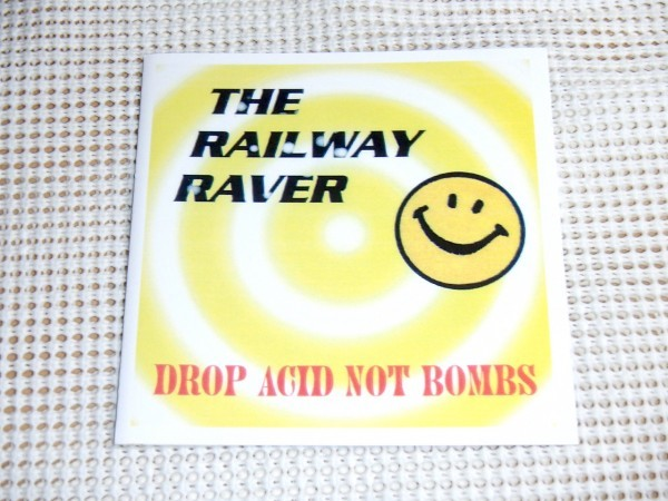 廃盤 The Railway Raver レイルウェイ レイヴァー Drop Acid Not Bombs / Rephlex (aphex twin のレーベル)/ 90s アシッド ハウス 最高峰