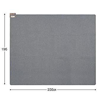 3畳相当 MORITA 電気カーペット 約235×195cm (3畳相当) TMC-300_画像3