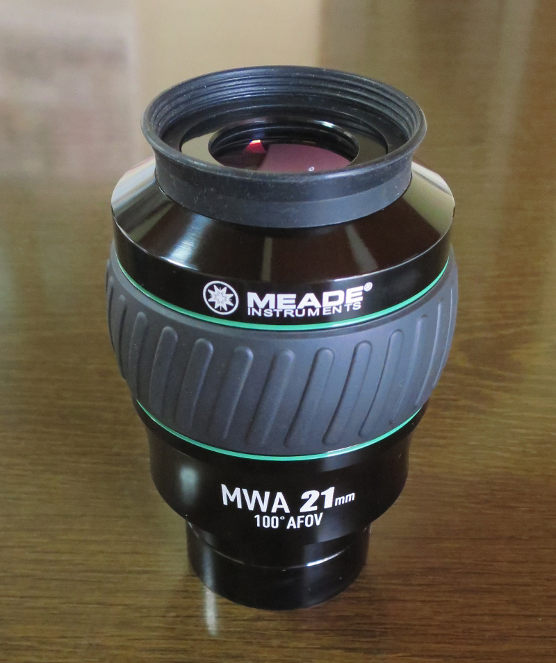 "MEADE SERIES 5000 Mega Wide Angle Eyepiece 2""  21mm  100°AFOV"
