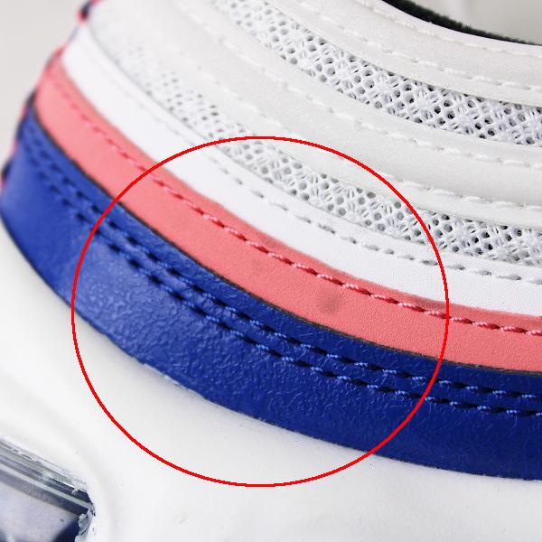 メンズ NIKE ナイキ 921826-107 AIR MAX 97 エア マックス 97 スニーカー 27.5/ホワイト 靴 シューズ【2400011842046】_画像7