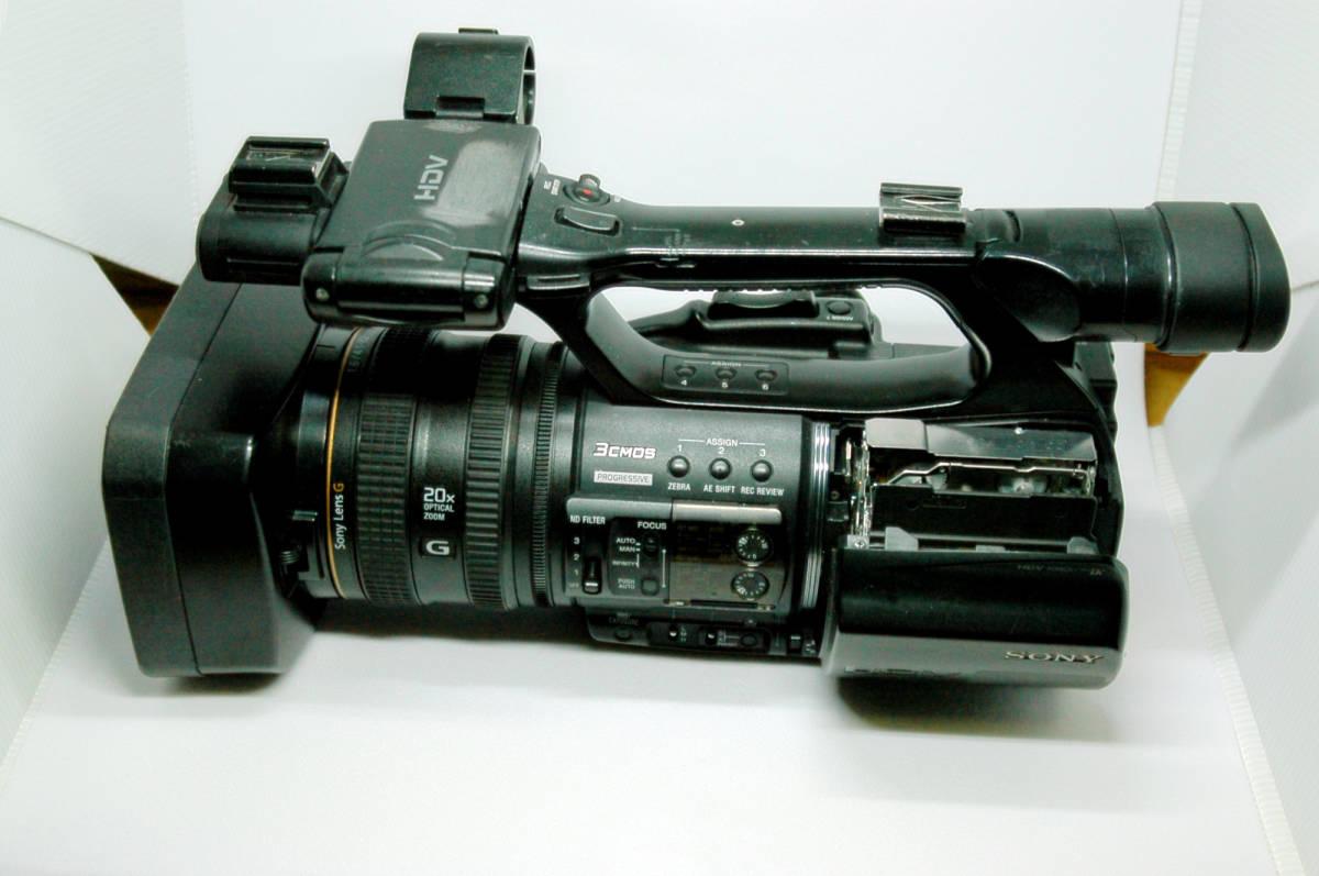 sony ソニー HDVカムコーダー  HVR-Z5J(中古品)