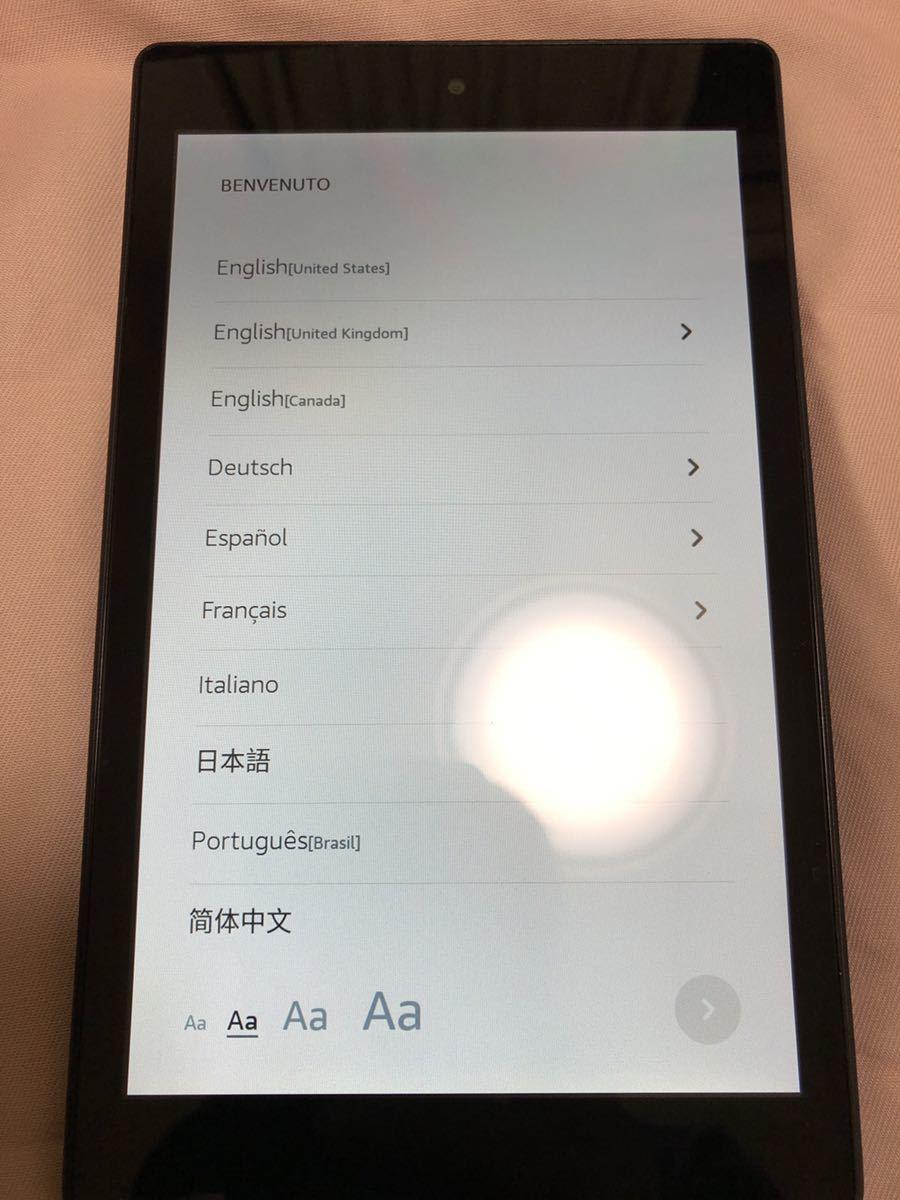 Amazon FIRE HD8 16GB タブレット_画像3