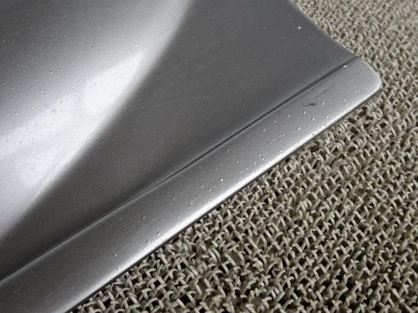 社外 AP1 S2000 前期 サイドステップ サイドスカート 左右 セット ダクト付 シルバー FRP製 AP2_画像6