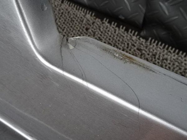 社外 AP1 S2000 前期 サイドステップ サイドスカート 左右 セット ダクト付 シルバー FRP製 AP2_画像7