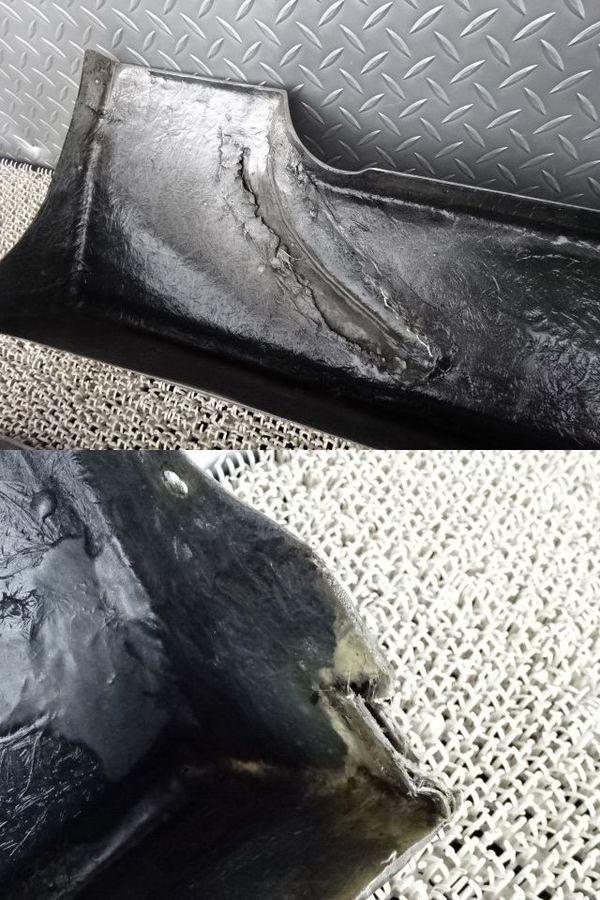 社外 AP1 S2000 前期 サイドステップ サイドスカート 左右 セット ダクト付 シルバー FRP製 AP2_画像9