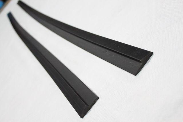 汎用ハイグレードサイドスポイラーtype2 ローダウン エアロ バンパー 加工 DIY カナード デフューザー 高品質_画像1