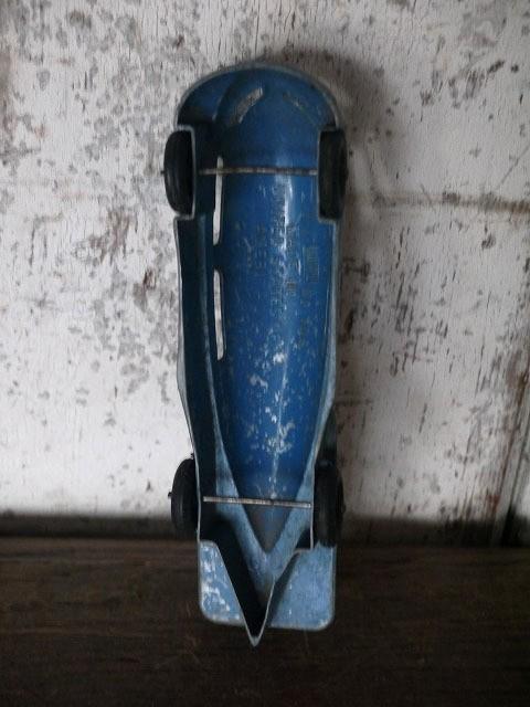 【特価】USA 1940's ~ ツェッペリンスタイル ストリームライン バス トイ 910[az13-115]!!!検雑貨!_画像7