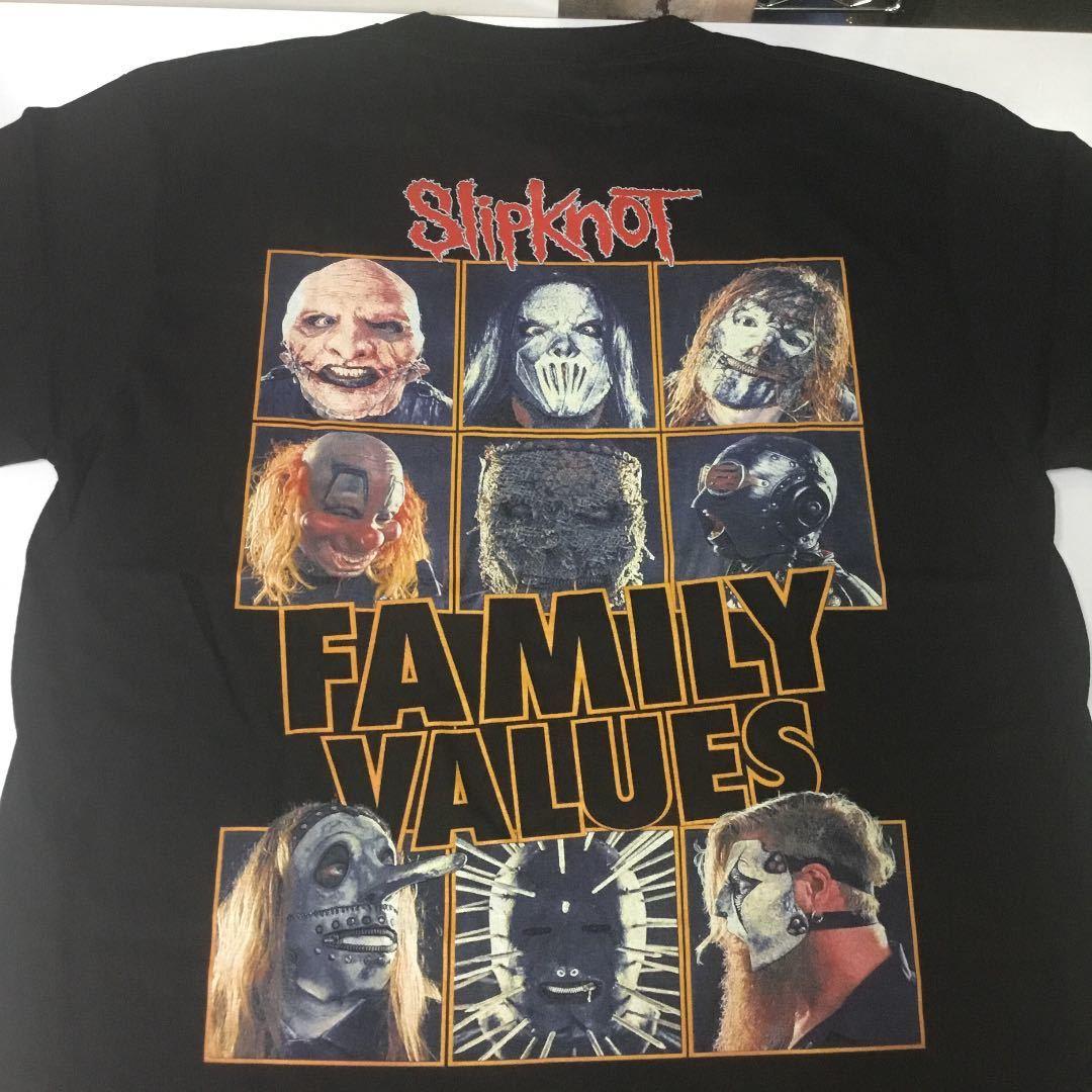 バンドデザインTシャツ Lサイズ スリップノット SlipknoT ③ SR6B2